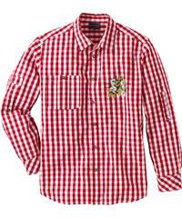 bpc selection Chemise bavaroise Regular Fit rouge manches longues homme - bonprix