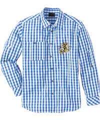 bpc selection Chemise bavaroise Regular Fit bleu manches longues homme - bonprix