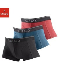 Hipster (3 Stück) in sportiver Optik Buffalo Farb-Set L(6),M(5),S(4),XL(7),XXL(8)