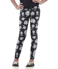 Leggings mit Blumen-Muster für Mädchen Arizona schwarz 140/146,152/158,164/170,176/182