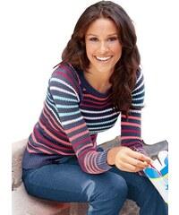 Damen CLASSIC INSPIRATIONEN Pullover mit komfortablen Raglanärmeln CLASSIC INSPIRATIONEN blau 36,38,40,42,44,46,48,50,52,54