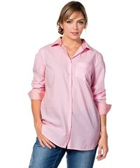 Damen Casual Leicht taillierte Hemdbluse SHEEGO CASUAL rosa 40,42,44,46,48,50,52,54,56