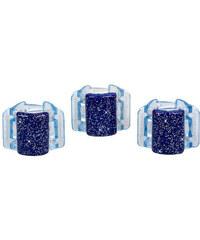Linziclip Mini Hair Clip Gumičky do vlasů W Skřipec do vlasů - Odstín Blue Glitter