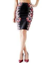 Guess Sukně High-Rise Scuba-Knit Pencil Skirt