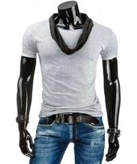 Pánské triko Tailored šedá světlá - šedá