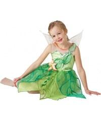 Rubies Tinkerbell - kostým - licenční kostým - LD 7 - 8 roků