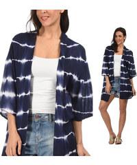 Lesara Cardigan im Kimono-Style - S