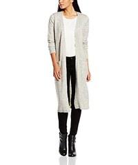VILA CLOTHES Damen Strickjacke Riva Long Knit Cardigan, Einfarbig