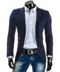 Pánské sako Gabriel modré - modrá