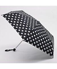 dámský skládací deštník FULTON -Miniflat 2 WHITE SPOT L340