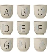 Bloomingville Keramický kalíšek Annabelle Alphabet Písmeno S