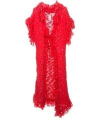 John Galliano Vintage Long Chunky Knit Cardigan