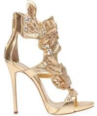 Giuseppe Zanotti Design Leaf Detail Sandals