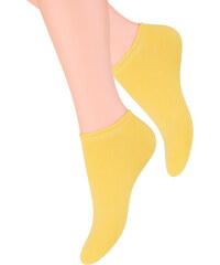 Ponožky Steven 041, žlutá