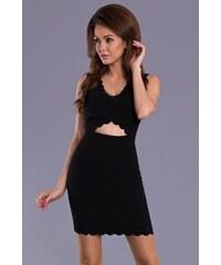emamoda Dámské šaty Raxy černé - černá