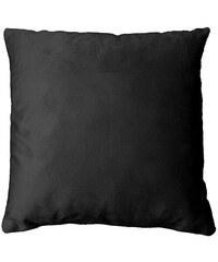 L3C Dekorační polštář Velvet černý