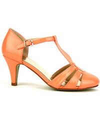 Sandale vernie Corail NINA - Cendriyon