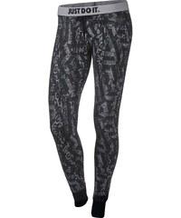 Nike RALLY TIGHT PANT - AOP šedá L