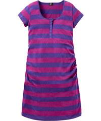 bpc bonprix collection Still-Nachthemd kurzer Arm in lila für Damen von bonprix