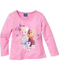 Disney Langarmshirt FROZEN, Gr. 80/86-140/146 in rosa für Mädchen von bonprix