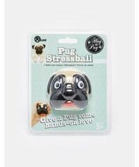 50Fifty - Stressball mit Mopsdesign - Mehrfarbig