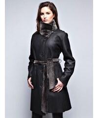 John&Yoko Dámský kabát LIA DFHC NOIR
