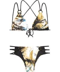 Aguaclara Bikini Triangle Et Bas Brésilien Multi Liens - Manu