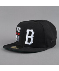 Black Scale Rebellious Fitted černá