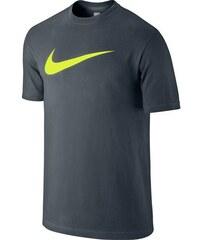 Nike TEE-CHEST SWOOSH tmavě šedá L