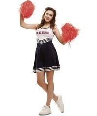 Kostým Cheerleader Velikost M/L 42-44