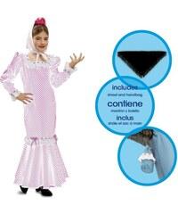 Dětský kostým Madridská dívka bílá Pro věk (roků) 1-2