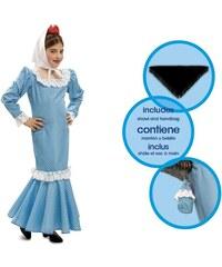 Dětský kostým Madridská dívka modrá Pro věk (roků) 1-2