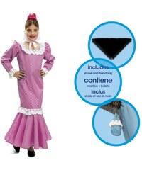 Dětský kostým Madridská dívka růžová Pro věk (roků) 1-2