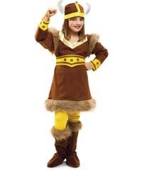 Dětský kostým Vikingská dívka Pro věk (roků) 1-2