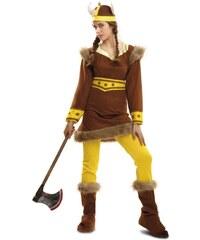 Kostým Vikingská žena Velikost M/L 42-44