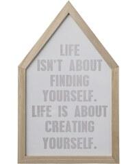 Bloomingville Obrázek v dřevěném rámu Yourself