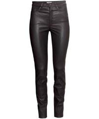 H&M Kožené kalhoty