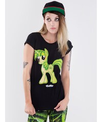 FameFatale Pony Black