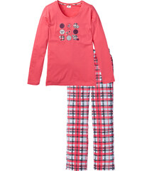 bpc bonprix collection Pyjama fuchsia manches longues lingerie - bonprix