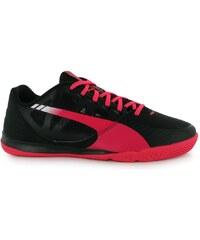 Fotbalové sálovky Puma evoSpeed Sala IC Black/Pink