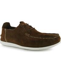 Firetrap Marco Suede Shoes Brown