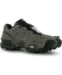 boty Salomon Speedcross 3 pánské Trail Running Shoes Camo Titanium