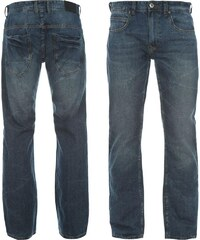 Firetrap Cuffed pánské Jeans Med Wash