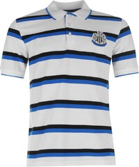 Polokošile pánská NUFC Stripe Polo White/Blk/Royal