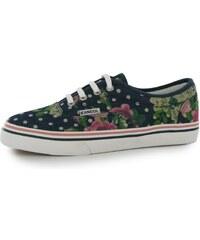 Kangol Floral Shoes Ladies Navy