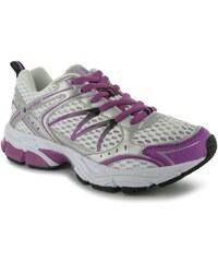 boty Karrimor Pace Dual Density dámské Running Shoes White/Purp/Sil