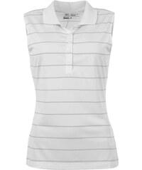 Nike Tech Striped Polo dámské White