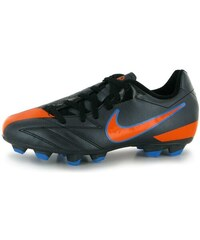 kopačky Nike Total 90 Shoot IV FG Junior Black/Orange