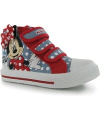 Character Canvas Hi Tops Girls Disney Minnie