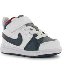 Fabric Nike Backboard 2 Mid Infants Trainers White/Blue